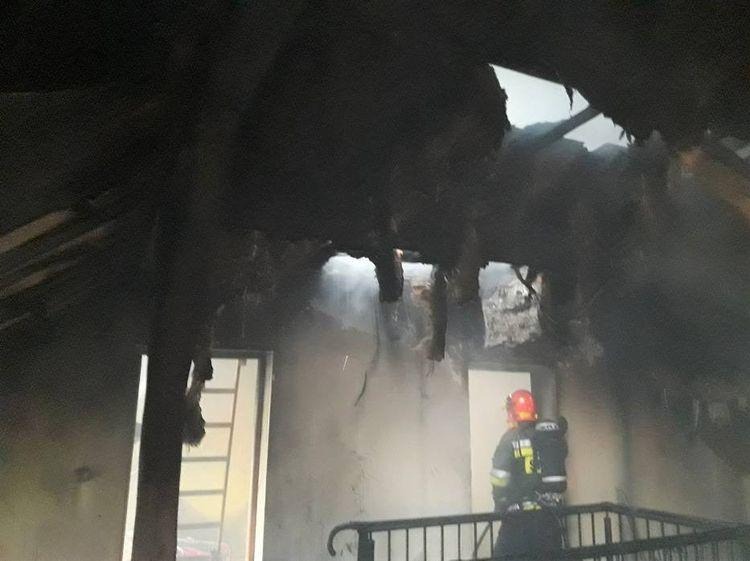 150 tys. złotych strat po pożarze domu przy ul. Boguszowickiej