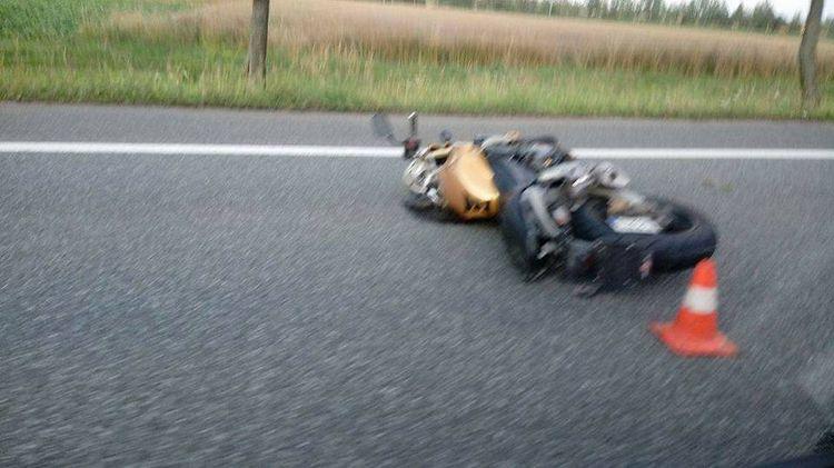 Tragiczny wypadek na DK-81. Zginął 27-letni motocyklista z Żor