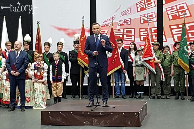 Wizyta Andrzeja Dudy w Żorach. Co powiedział prezydent? [FOTO, WIDEO]