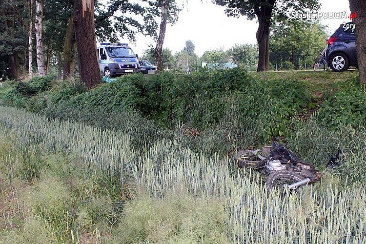 Tragiczny wypadek na drodze. Nie żyje motocyklista