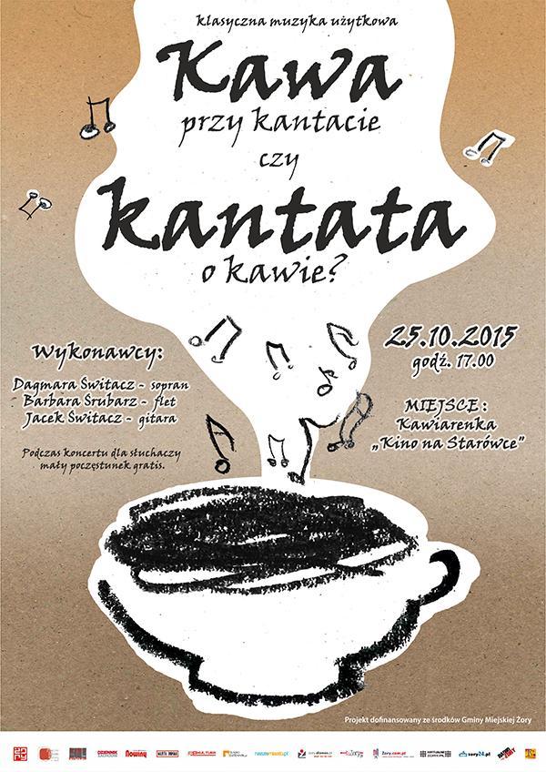 """""""Kawa przy kantacie czy kantata o kawie?"""": klasyczna muzyka użytkowa, Materiały prasowe"""