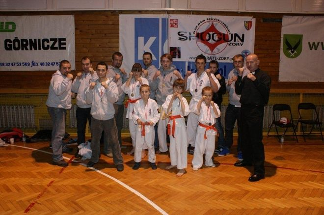 Worek medali żorskich karateków, Shogun Żory