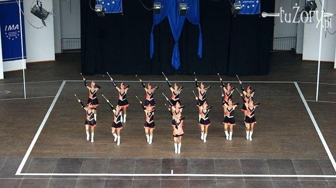 Mażoretki ''Eksplozja'' zaprezentowały się na Mistrzostwach Europy.