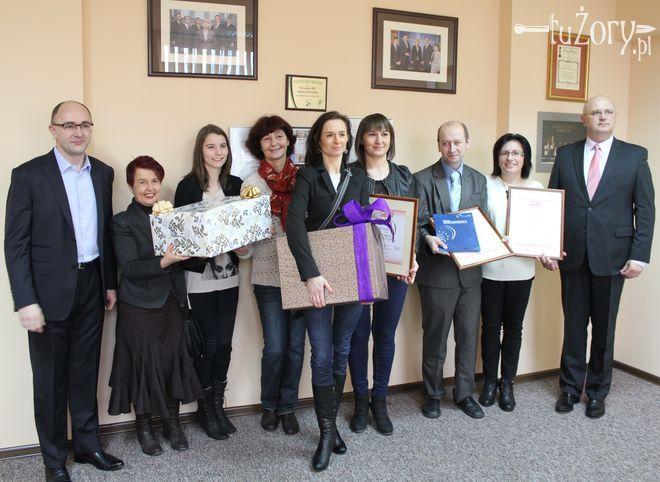 Reprezentanci trzech stowarzyszeń odebrali nagrody.