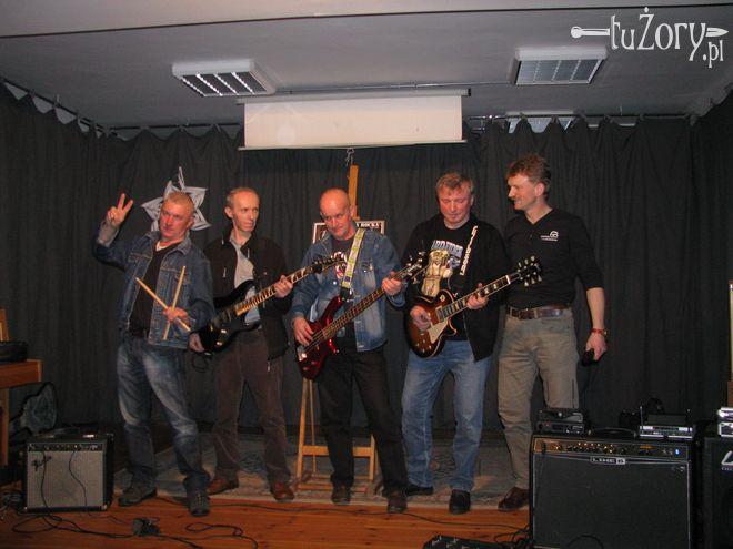 Zakon Rocka, czyli (od lewej): Arkadiusz Stabla, Ryszard Godyń, Dariusz Kudła, Bogusław Ścibik i Krzysztof Ścibik.