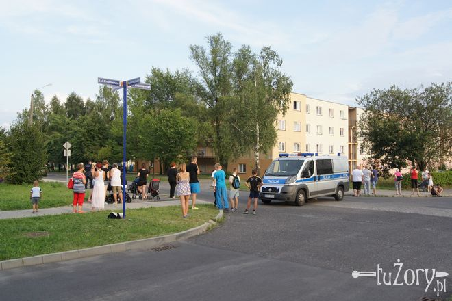 Ewakuacja rozpoczęła się około godz. 18:00 - podobnie jak dzień wcześniej, 29 lipca.