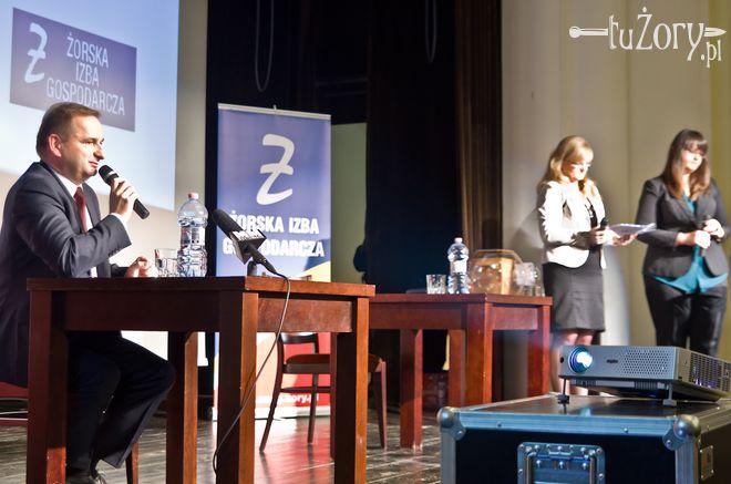 Debata prezydencka w Żorach przed II turą wyborów