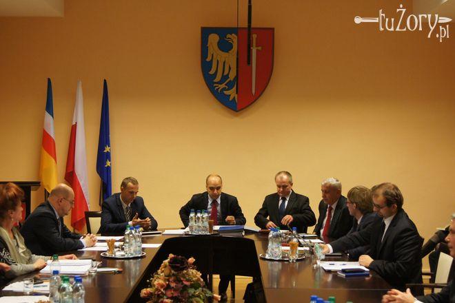 Nowo wybrane prezydium Rady Miasta Żory VII kadencji