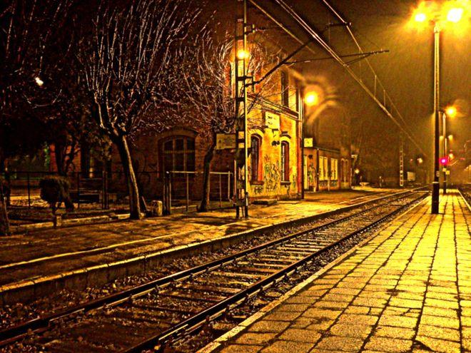Dworzec PKP w Żorach