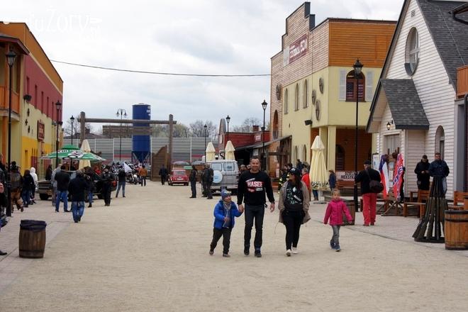 18 kwietnia żorskie Miasteczko Westernowe po raz czwarty otworzyło nowy sezon