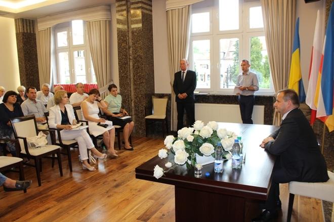 Ukraińscy samorządowcy poznawali Żory, UM Żory