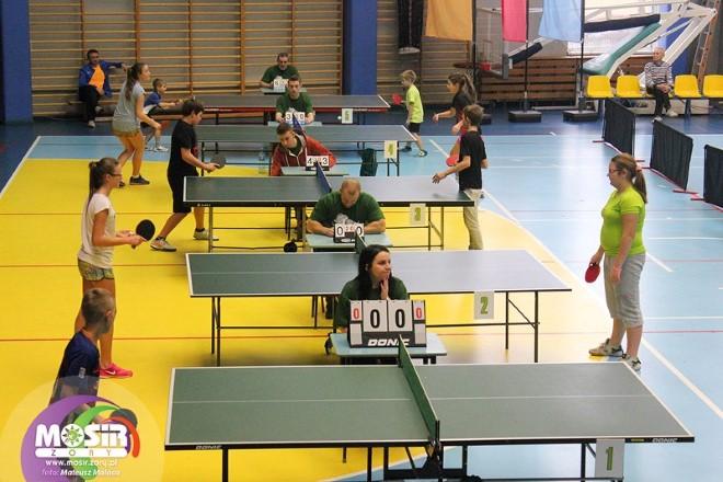 Za nami XVII Wigilijny Turniej Dzieci i Młodzieży w Tenisie Stołowym, MOSiR Żory