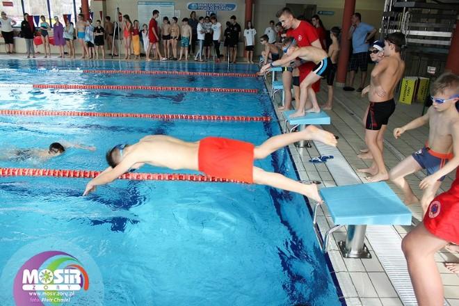 11-12 lutego w żorskim Aquarionie odbyły się XVII Międzyszkolne Mistrzostwa Żor w Pływaniu