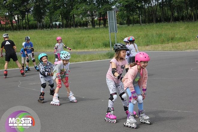 Zakończyły się zajęcia ''Szkółki jazdy na rolkach'', organizowane przez MOSiR Żory