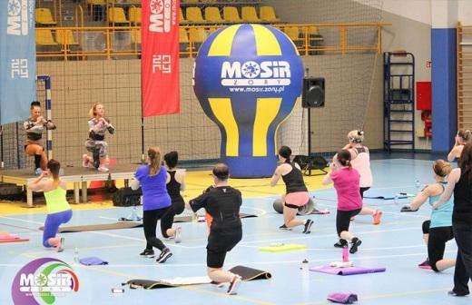 Maj�wka 2016: zaj�cia fitness w hali �orskiego MOSiR-u