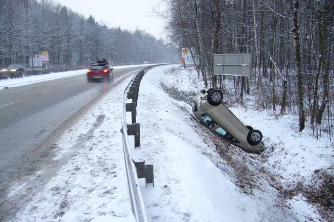 Od 1 stycznia br. doszło do ponad 30 kolizji drogowych na terenie Żor