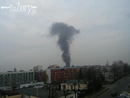 Pożar w centrum miasta. Zapalił się pustostan, Czytelnik