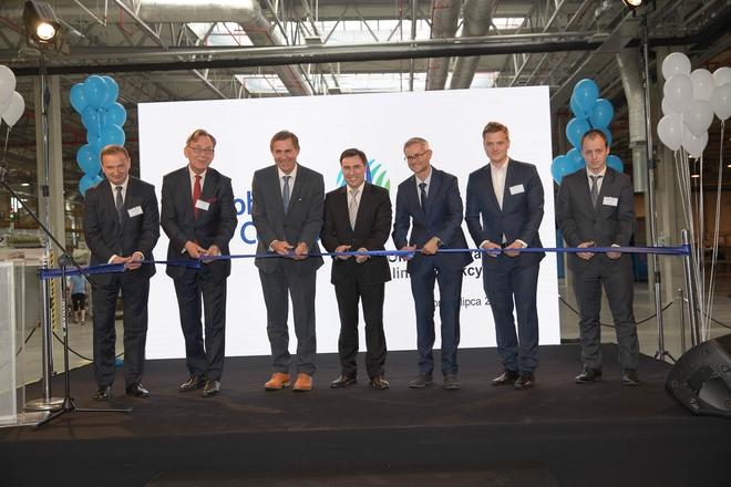 Uroczyste otwarcie nowej linii produkcyjnej nastąpiło 7 lipca br.