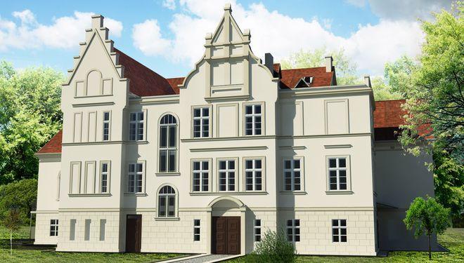 Wizualizacja Pałacu w Baranowicach