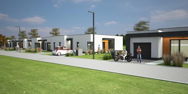Tak na wizualizacjach prezentuje się nowe osiedle, które powstanie w dzielnicy Rogoźna
