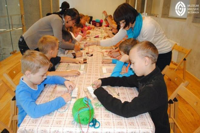 Dzieci wypełniają muzeum, materiały prasowe