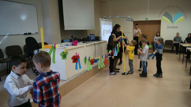 Żorek: przedszkolaki i liczba Pi, Materiały prasowe