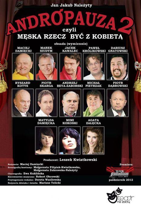 """Scena Na Starówce: spektakl """"Andropauza 2"""", Materiały prasowe"""