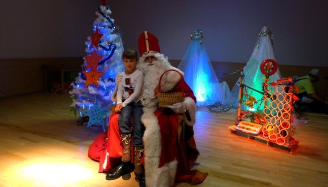 Mikołaj zagościł w Klubie Wisus, materiały prasowe