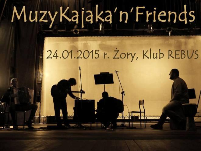 MuzyKajaka i przyjaciele zagrają dla małej Mai, materiały prasowe