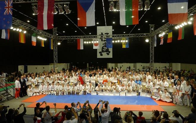 Żorzanka Monika Kubryń zdobyła brąz Mistrzostw Europy w Karate Kyokushin, które odbywały się w Katowicach