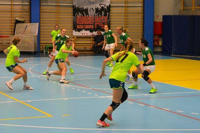 Szczypiornistki MTS-u Żory przegrały z drużyną KPR Kobierzyce 21:24 w meczu I ligi piłki ręcznej kobiet