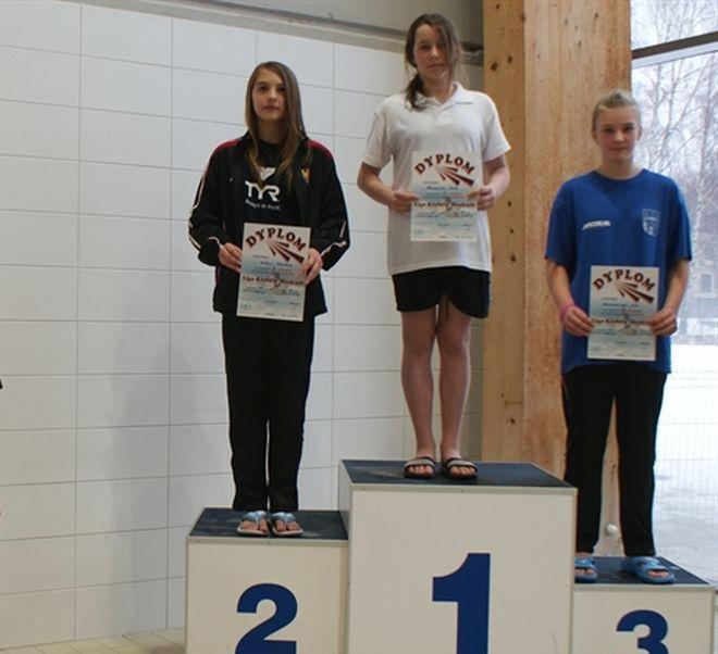 Roksana Sałbut zajęła II miejsce na 50 m stylem motylkowym
