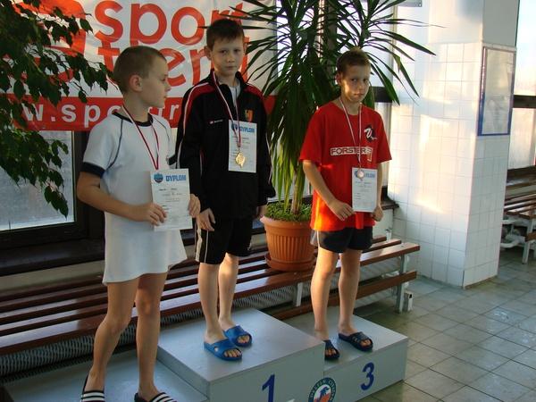Szymon Jaworski został wybrany najlepszym zawodnikiem zawodów w kategorii 9-10 lat