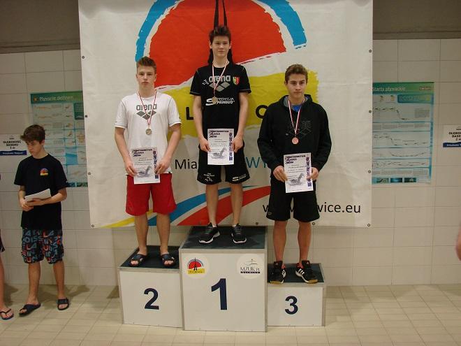 Szymon Jaworski z UKS Salmo Żory został pięciokrotnym złotym medalistą Mistrzostw Śląska w Gliwicach