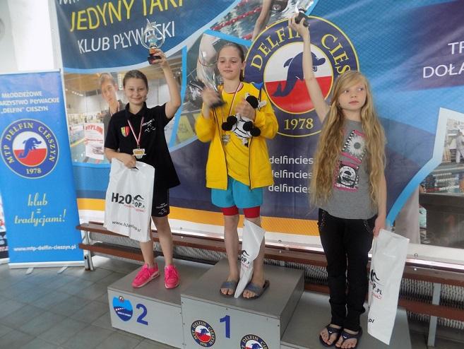 Wiktoria Trzeciak zajęła II miejsce w klasyfikacji generalnej ISM Sobota zdobywając w rundzie finałowej dwa srebrne medale