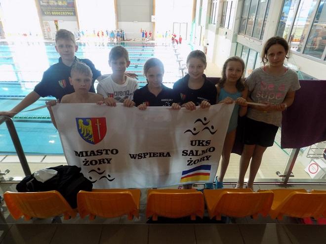 Młodzi pływacy UKS Salmo Żory z sukcesami w Finałowej Rundzie Ligi Klubów Śląskich, UKS Salmo Żory