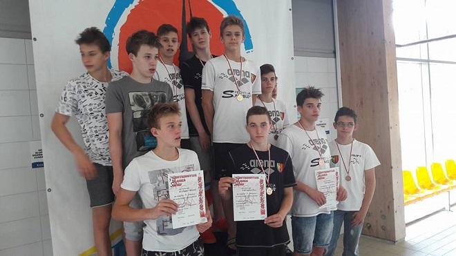 UKS Salmo Żory zdobył łącznie na Mistrzostwach Śląska aż 40 medali i wiele tytułów mistrzowskich