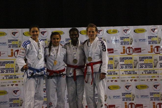 Sandra Pniak zdobyła III miejsce w międzynarodowych zawodach Otwartych Mistrzostw Europy w Belgii
