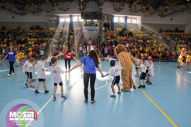 11 grudnia w żorskiej hali odbędzie się XXII edycja Turnieju Mikołajkowego dla przedszkolaków