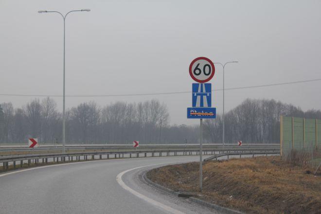 Zjazd na A1 w Żorach