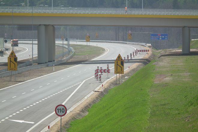 Odcienk A1 między Rowniem a Świerklanami będzie dziś oddany do użytku