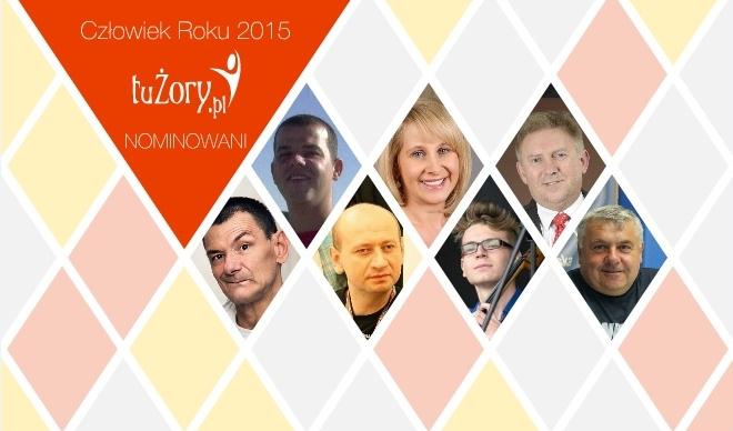 Nominowani do konkursu (od lewej): Dariusz Filak, Dawid Krawiec, Grzegorz Granek, Jolanta Hrycak, Kamil Owczarek, Marek Piksa, Mirosław Szczurek