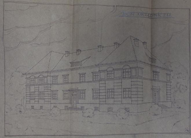 Szkic domu urzędniczego