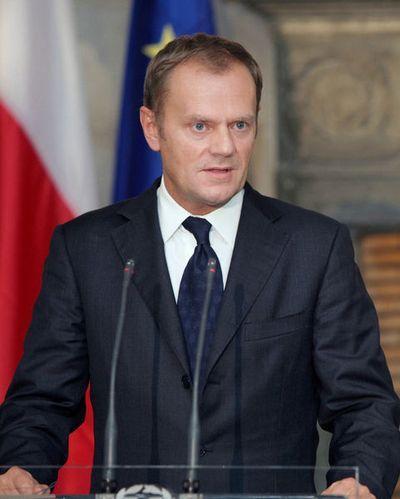 Premier RP, Donald Tusk.