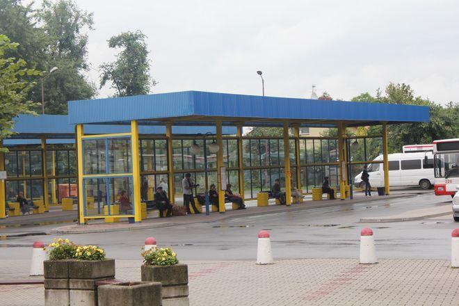 Dworzec autobusowy w Żorach