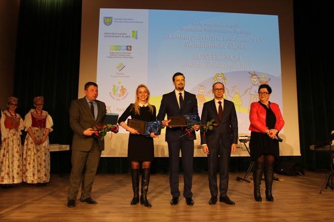 W imieniu miasta nagrodę odebrała Anna Ujma