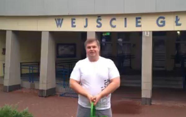 Ice Bucket Challenge w Żorach: wyzwanie przyjął m.in. prezydent i radny