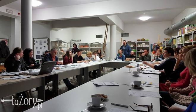 Spotkania połączone z prezentacjami inicjatyw odbywały się w Studiu Działań Artystycznych