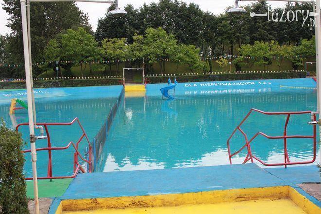 Kąpielisko w Roju przez większość wakacji świeciło pustkami