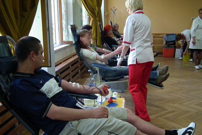 Akcja krwiodawstwa w klubie Rebus jest organizowana w każdą trzecią środę miesiąca
